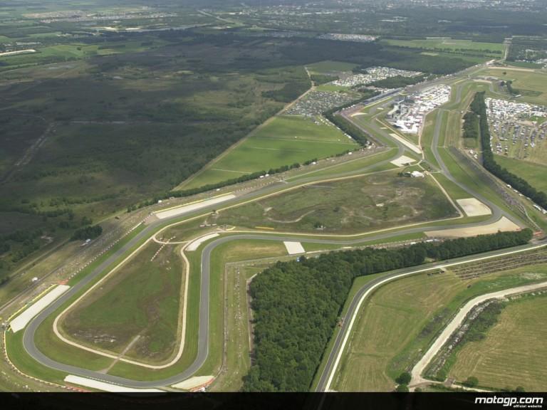 Circuit Aerial Shot