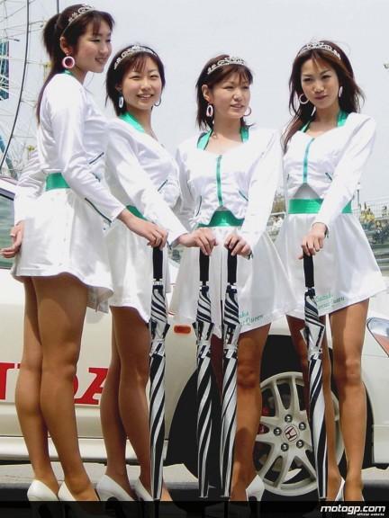 Japanese Paddock Girls