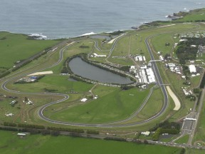 Phillip Island areal view