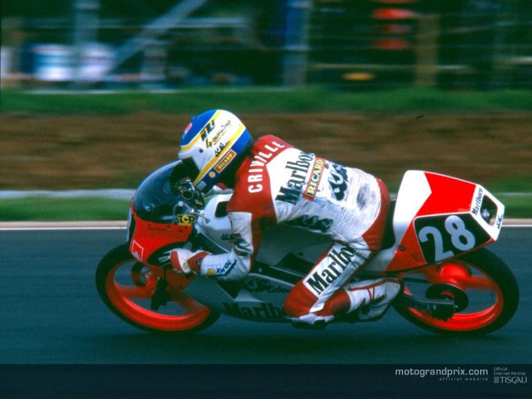 Criville action 1989, 125 cc JJ Cobas