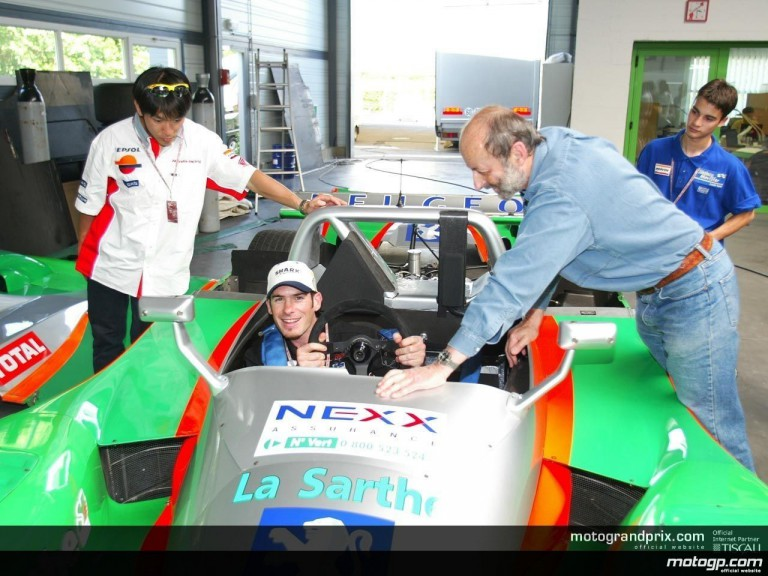 Visit to Henri Pescarolo\'s workshop