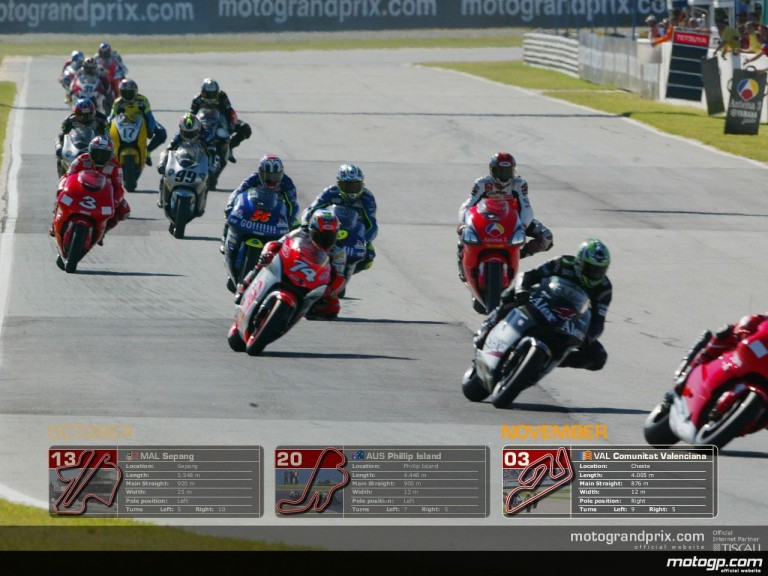 MotoGP Wallpaper Calendar - November