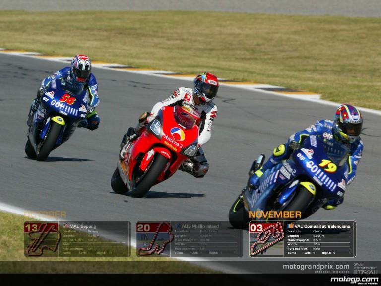 MotoGP Wallpaper Calendar - November