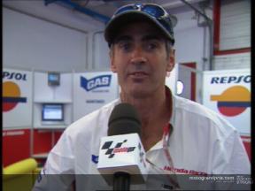 Interview de Doohan après la course