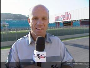 Randy Mamola interview after Race