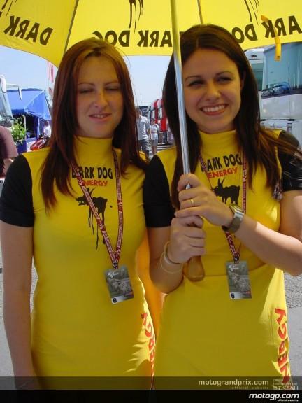 Catalunya Paddock Girls