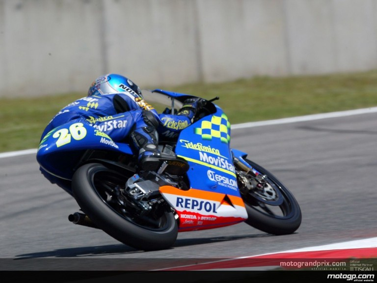 125 Track Action Shots - Catalunya