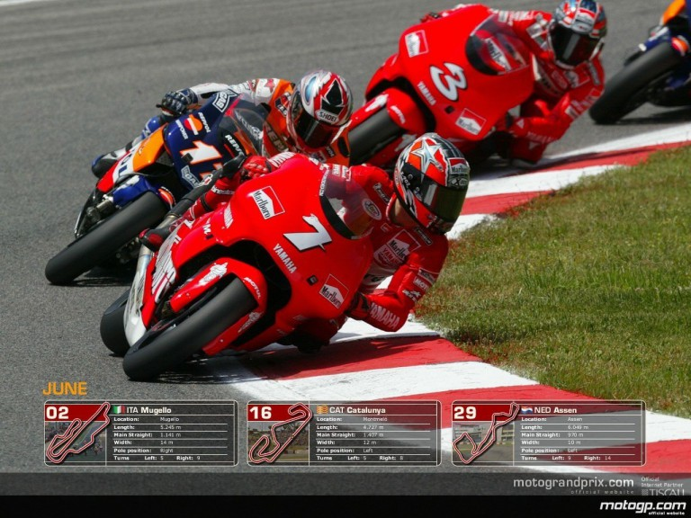 MotoGP Wallpaper Calendar - June