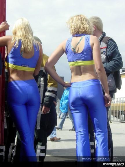 Assen Paddock Girls
