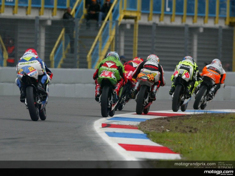 125 Circuit Action Shots - Assen
