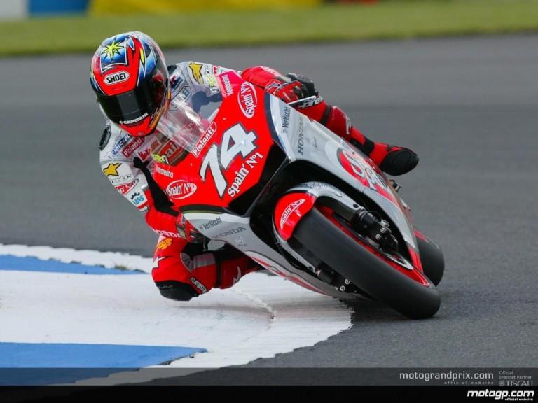Donington MotoGP Action Shots