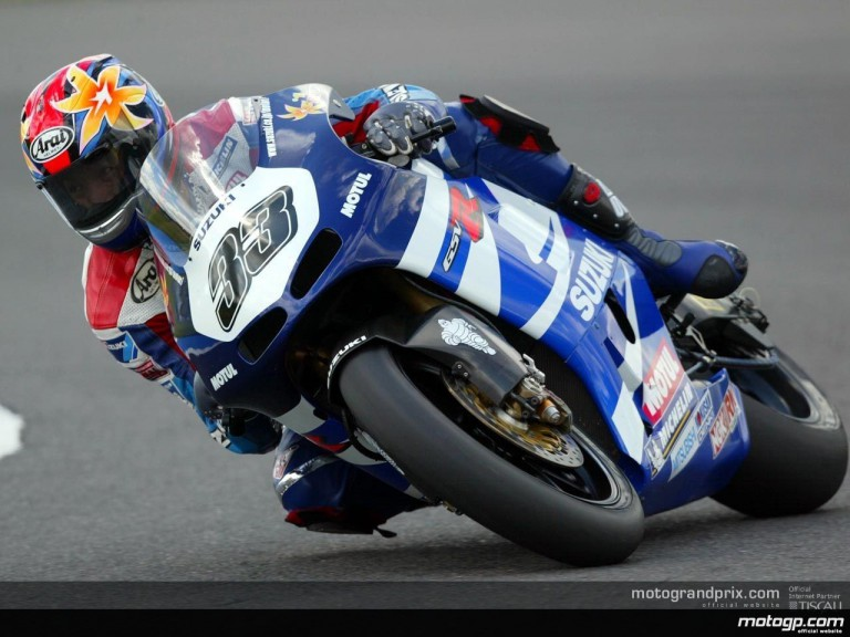 Donington MotoGP Action Shots