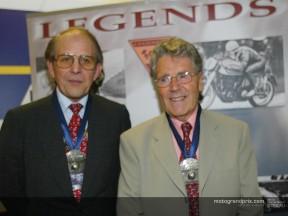 Geoff Duke & Phil Read