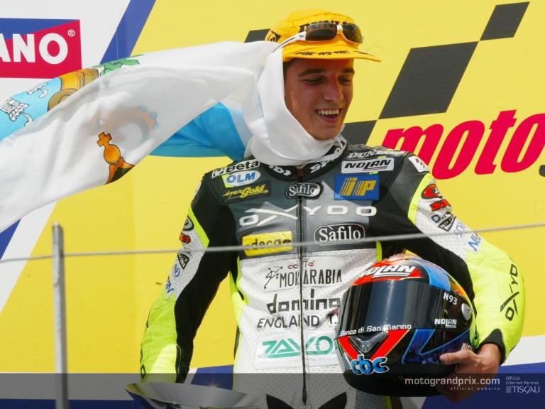 Alex de Angelis (podio)