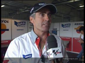 Mick Doohan Expert Eye after Race