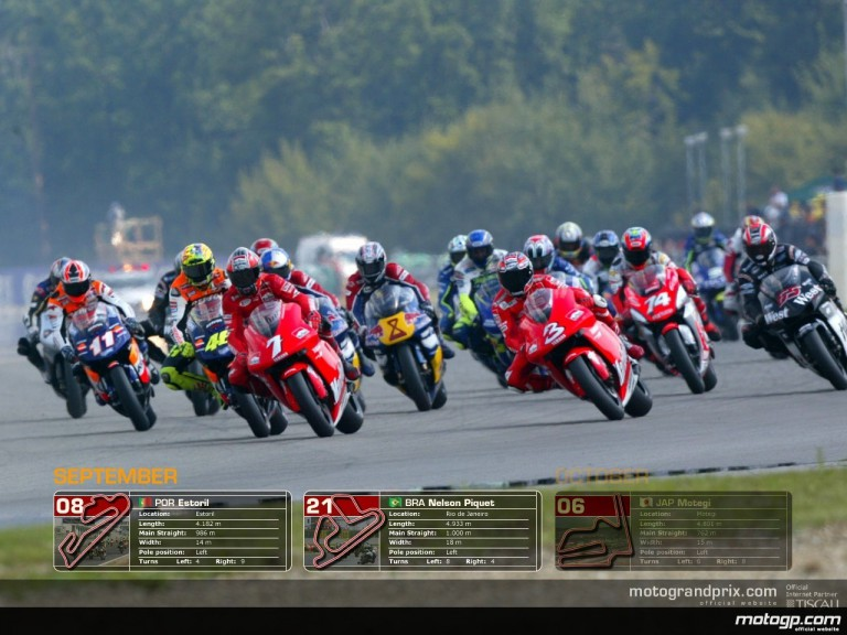 MotoGP Wallpaper Calendar - September