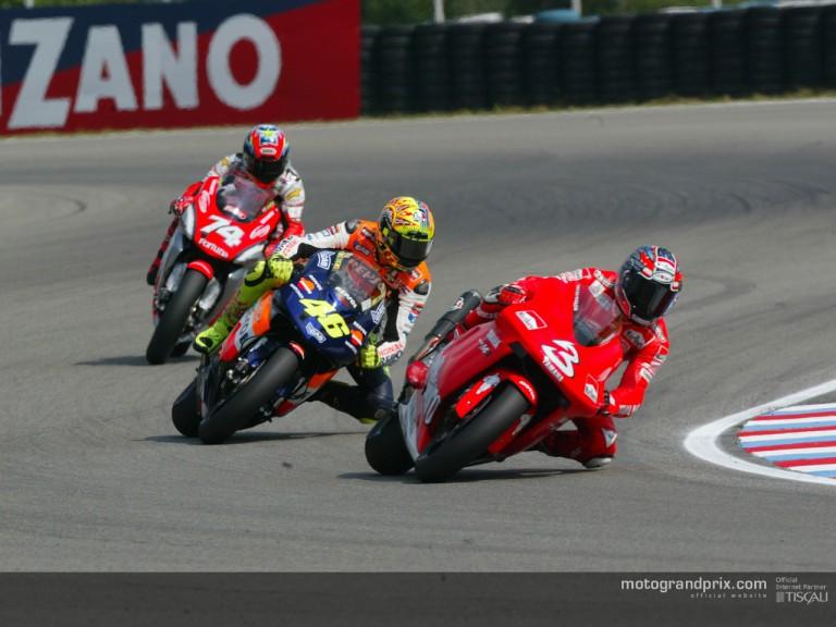 Group motogp: Biaggi, Rossi & Kato
