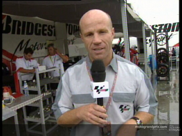 Randy Mamola Expert Eye after Race
