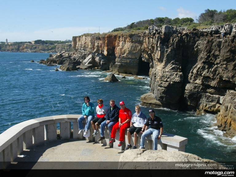 MotoGP riders relax in Portugal