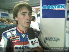 Pablo NIETO interview after the race