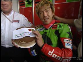 Youichi Ui 100th GP