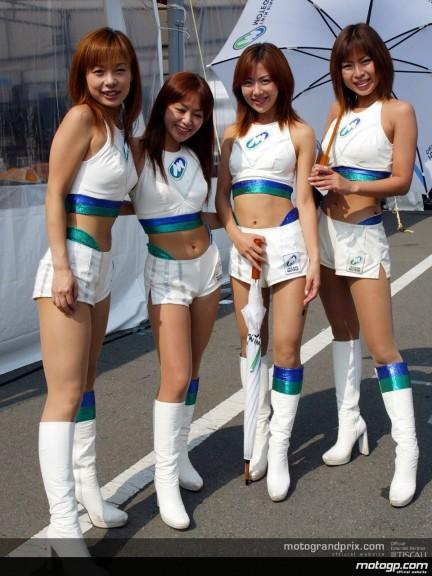 Paddock girls - Motegi
