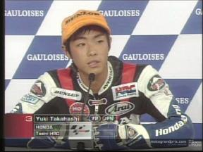 Yuki Takahashi interview after the race