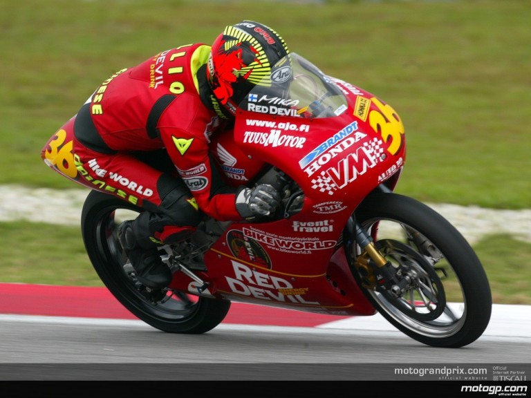 125 Circuit Action Shots - Sepang