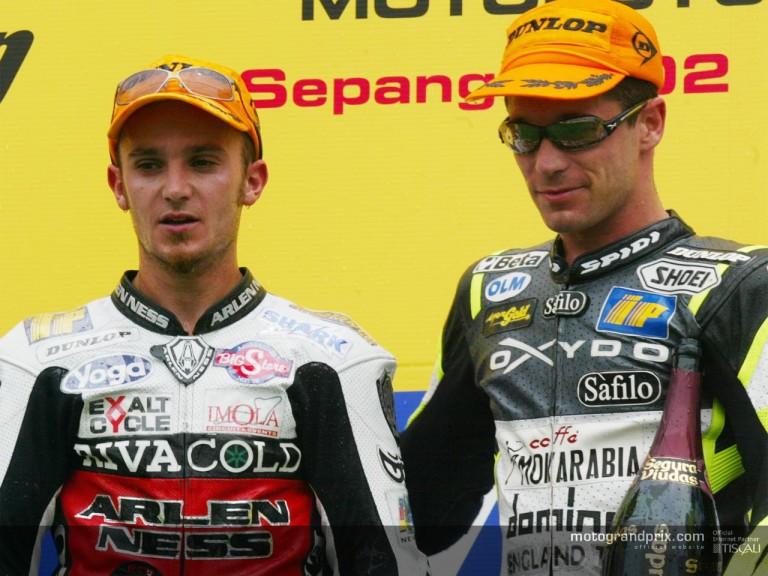 Vincent & Cecchinello podium