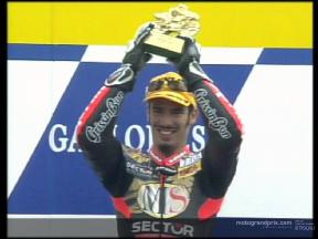 Marco MELANDRI  250 c.c. World Champion 2002