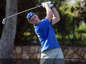 Gibernau shines in second annual Riders for Health golf tournament