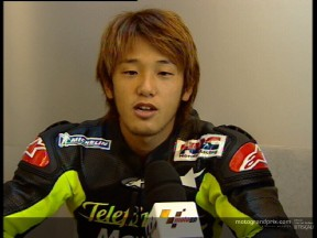Daijiro KATO interview  - Jerez test