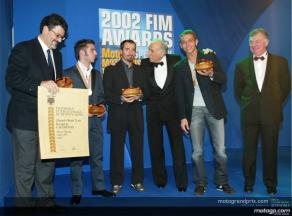 2002 FIM Awards Ceremony marks end of spectacular motorcycle season