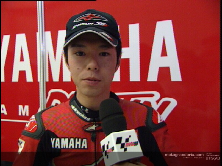 Shinya NAKANO interview - Irta test Jerez