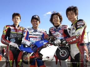 Grupo pilotos japoneses