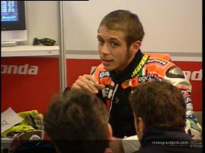 Repsol Honda test at Cataluyna Circuit