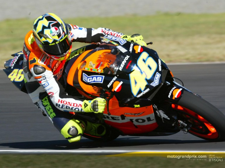 Rossi in Welkom