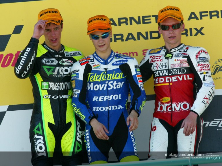 125 podium in Welkom
