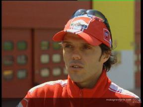 Loris CAPIROSSI  interview Preview Spanish GP