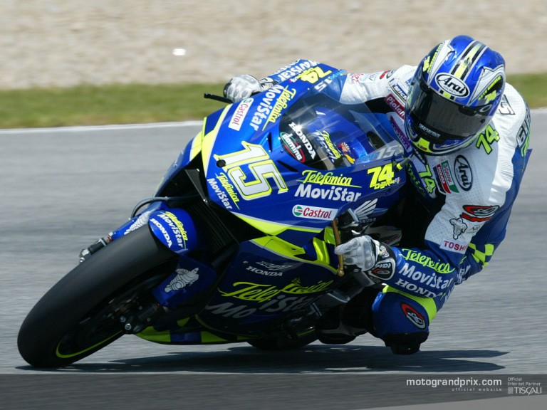 Gibernau in Jerez