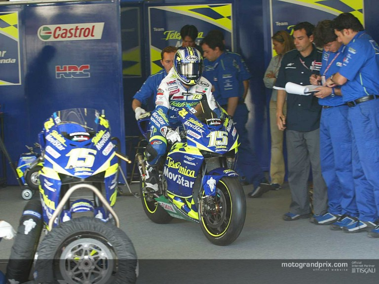 Gibernau2 in Jerez