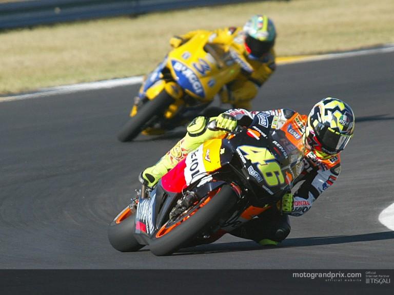 Group MotoGP Rossi & Biaggi