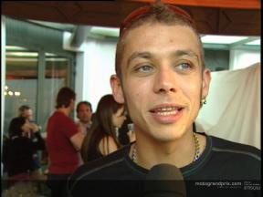 Valentino ROSSI interview at the Cannes Film Festival