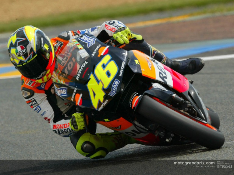 Rossi in Lemans