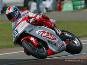 Melandri in Lemans