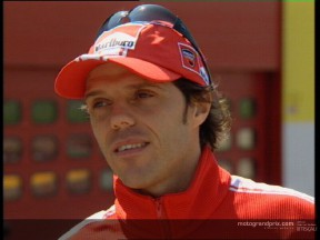 Loris CAPIROSSI interview preview to Italian GP