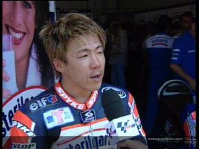 Interview de Youichi UI apres QP1