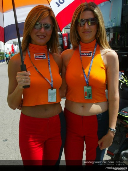 Paddock Girls Cataluyna