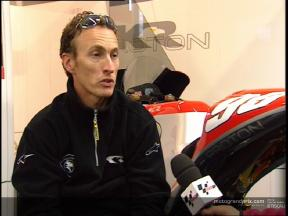 McWilliams returns home on Proton KR´s new four-stroke - Video interview