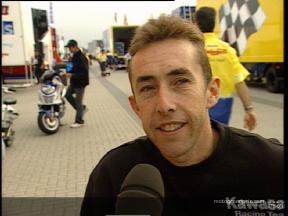 McCoy on Kawasaki development - Video Interview